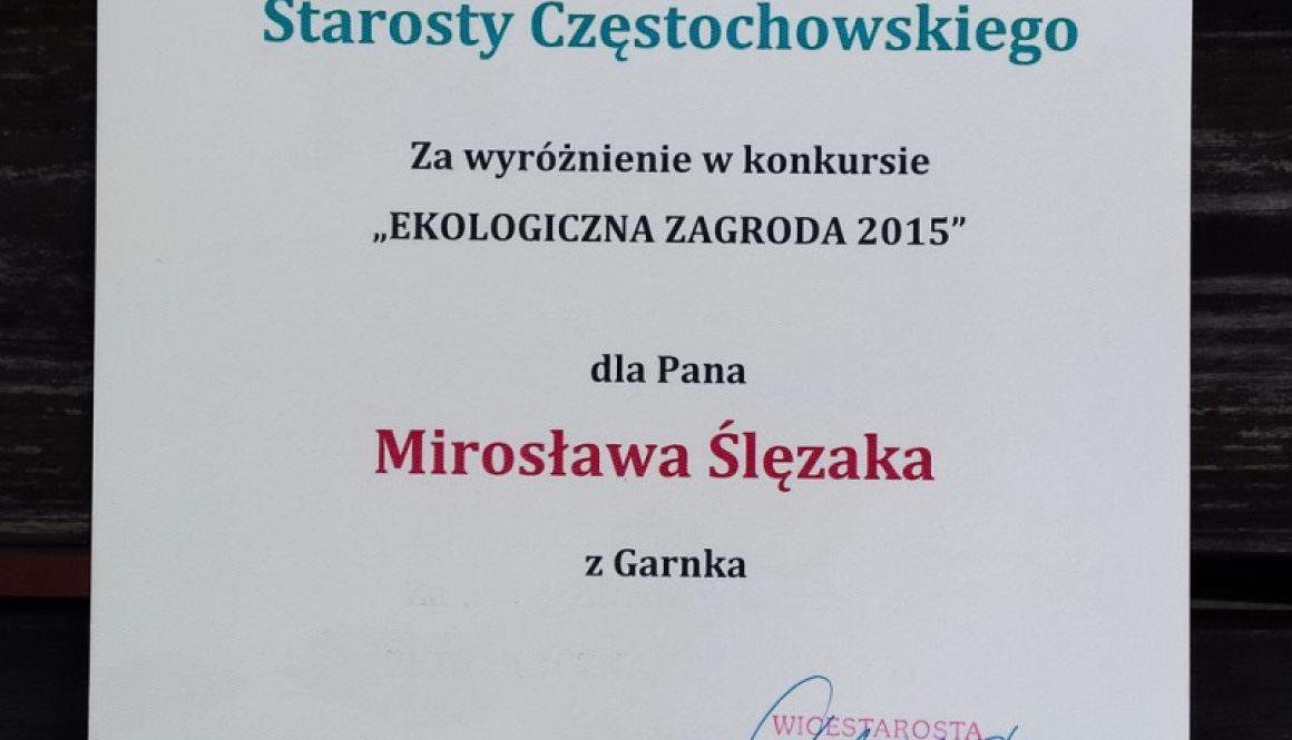 Ekologiczna Zagroda 2015